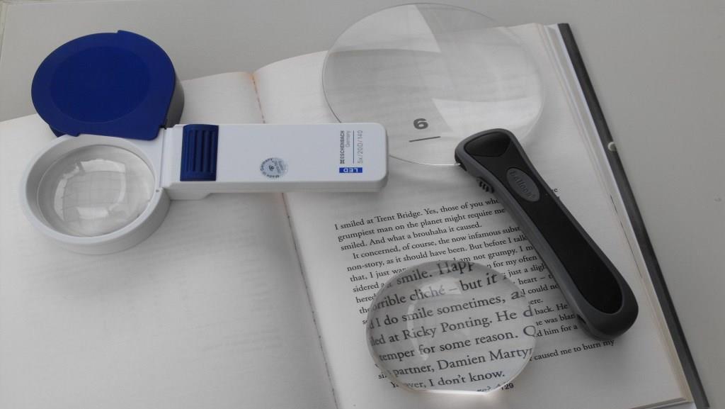 Устройства для слабовидящих: оптические устройства (часть 1)