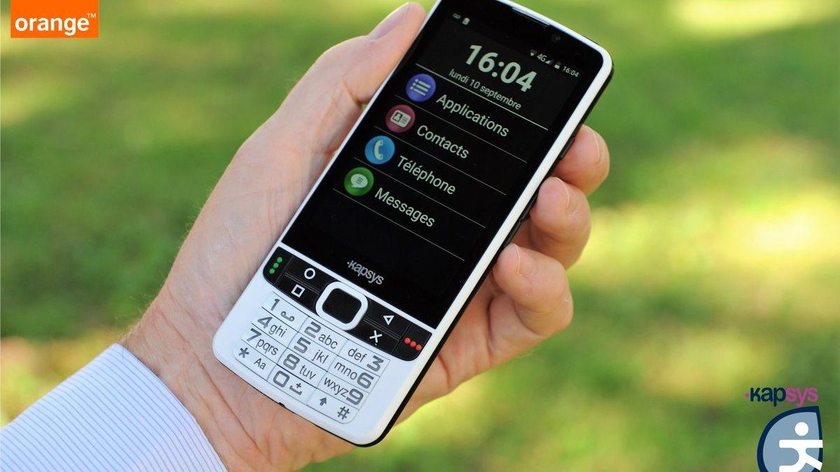 KAPSYS SmartVision2: смартфон для слабовидящих