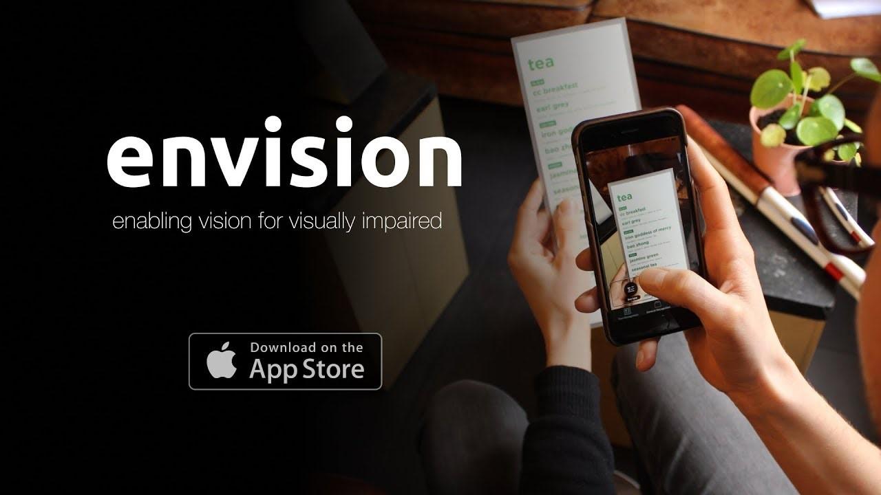 Envision AI помогает слабовидящим людям лучше чувствовать и видеть свое окружение