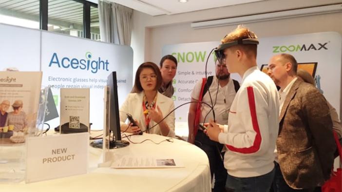 Обзор электронных устройств для слабовидящих на выставке SightCity 2019